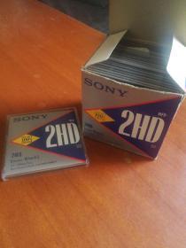 索尼软盘 10张全新