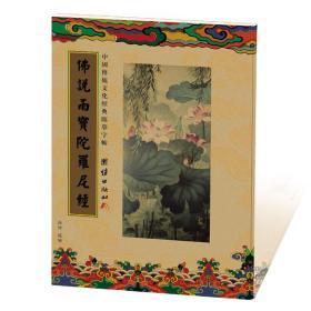 《佛说雨宝陀罗尼经》中国传统文化经典临摹字贴/抄经本