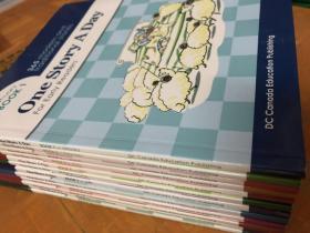 平装 英文绘本 365个英文故事天天故事会 One Story A Day 幼儿版 带音频 12册 备注 无CD
