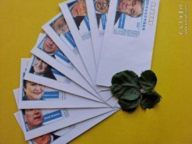 国际社会关注中国战疫   美术封1组9枚(个人收藏,仅此一组)