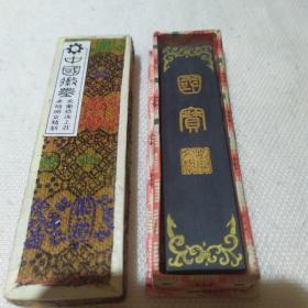 徽州胡开文墨锭99,国宝熊猫