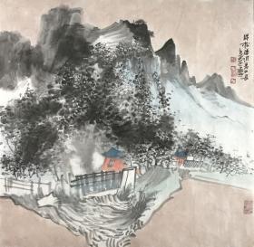保真字画,假一赔三  张立鼎,笔名张伯远,湖南张家界慈利县高峰乡人,中国美术家协会会员。(价格为一幅价格)