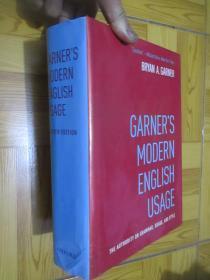 Garners Modern English Usage   (Fourth Edition)   16开,精装
