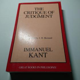 The Critique of Judgment