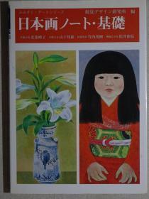 全网唯一一册 日本画技法 日本画基础 岩彩画技法重彩画技法讲座 日文原版现货