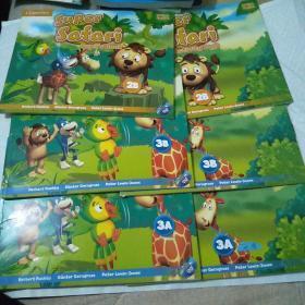 Super Safari (Pupils Book 2B 3A 3B)+(Activity Book 2B 3A 3B)6本合售。仔细看图片。见描述。