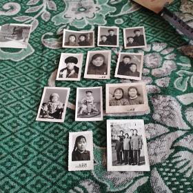 六七十年代照片11张合售(尺寸不一)