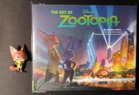疯狂动物城电影设定集 英文原版 The Art of Zootopia 英文版 迪士尼动画书