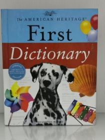 The American Heritage 美国少儿全彩图解大词典 The American Heritage First Dictionary(for Ages 6-8)(词典)英文原版书