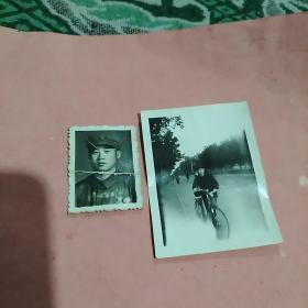 照片2张合售(大小不一,其中一张有折痕)