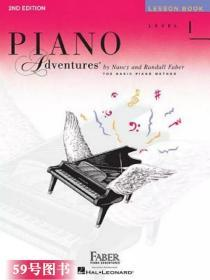 Piano Adventures, Level 1, Lesson Book 1级课本 菲伯尔钢琴基础教程 英文原版