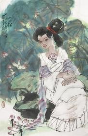 保真字画,假一赔三  罗宁,陕西人,画家,美术评论家。陕西省美术博物馆馆长、学术委员会主任、中国美术家协会会员。(价格为一幅价格)