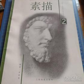 《素描(1)(2)》少年儿童美术技法丛书 j