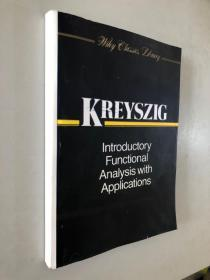 KREYSZIG introductory functional analysis with applications 前面应该还有一本 这本从328页开始到结束