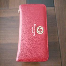 红色手机钱包