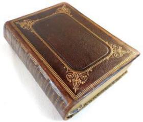 稀缺, 《 圣经--詹姆斯国王版 》  约1875年出版,