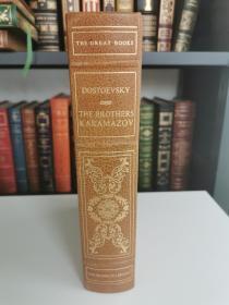 The Brothers Karamazov  《卡拉马佐夫兄弟》陀思妥耶夫斯基 Fyodor Dostoevsky 经典名著 Franklin Library 25周年限量版 西方世界伟大名著系列丛书