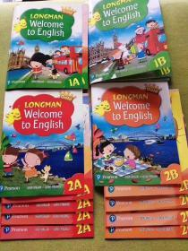 新版香港皇冠朗文小学英语教材longman welcome to english
