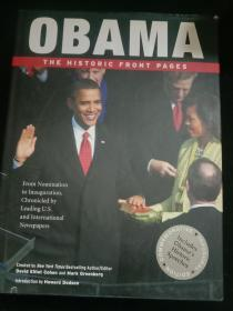 OBAMA THE HISTORIC FRONT PAGES