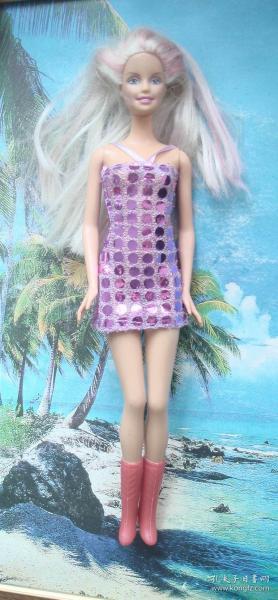 ���ц���╁�� ��姣�濞�濞�Barbie涔�褰╄�归�垮����涓诲ご�����借浆�ㄥ�濂冲� F 楂�30cm