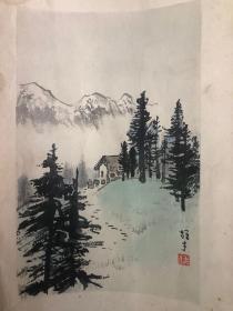 1957骞磋�e�����ㄧ��姘村�般��榛����� 灞辨按������36.5*24.8cm��    ���稿��剧��濂戒���涓�����