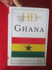 Historical Dictionary of Ghana     (小16开,硬精装)  【详见图】