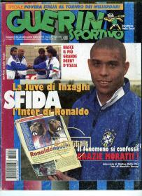 意大利原版杂志体育战报 GUERIN SPORTIVO 1997 罗纳尔多国际米兰
