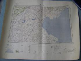 1933年出版《北京》地图   大日本帝国陆地测量部   46×58cm