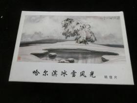 [明信片]哈尔滨冰雪风光(全套12张全)