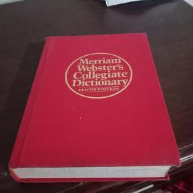merriam  websters  collegiate  dictionary【布面精装带扣手】