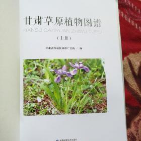 甘肃草原植物图谱(上下) 缺书皮