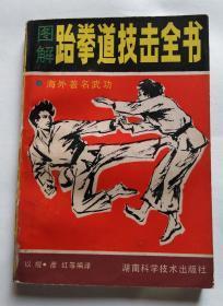 图解跆拳道技击全书