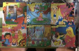 汉语拼音世界名著 白雪公主、小公主、拇指姑娘、爱丽丝梦游仙境、青鸟、天鹅湖6本合售