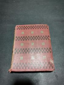 1908年精装原版外文书(见图,内有插图)