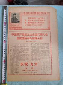 江西省庆祝九大专刊小报