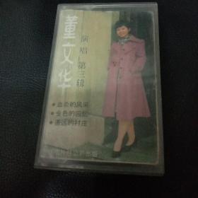 【老磁带】董文华  演唱 第三辑