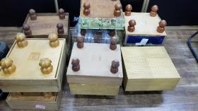 日本榧木老围棋墩