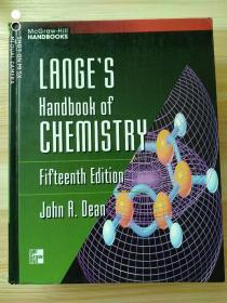 英文原版书 Lange's Handbook of Chemistry Hardcover – 1998 by John A. Dean (Author)