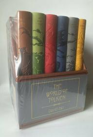 现货托尔金的世界导读礼盒The World Of Tolkien Boxed David Day