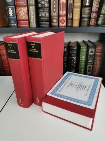 The Wealth of Nations 《国富论》亚当斯密 Adam smith 经典 1995年英国出版 套装全3卷 限量编号3000套 本套编号 185 带有签名收藏证书