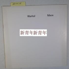 稀缺《沃霍尔,安迪的绘画-毛泽东像》10图录,  约1974年版,