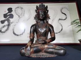 铜佛像,60公分坐观,音,低出年龄大了留着没用低价出-大铜佛-。。,。,-。.-