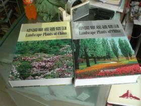 中国景观植物(上下册)特大16开精装2大册全