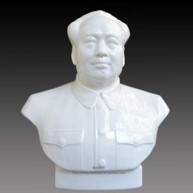 毛主席像摆件毛主席陶瓷像毛主席瓷像毛泽东像毛泽东雕像陶瓷摆件