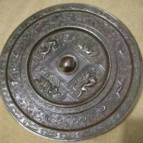 青铜镜,朱雀玄武