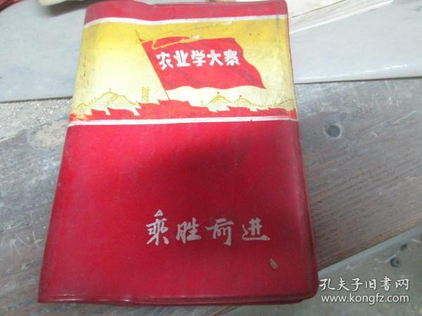 老日记本:农业学大寨(乘胜前进)