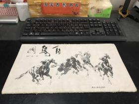 百马图/  郭广业作  活页10开(存13页 缺第2、8页)  黑龙江美术出版社