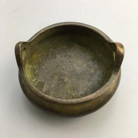 铜小香炉1,品相尺寸如图