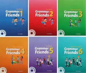 Grammar Friends 牛津语法朋友,全6册,牛津出版的语法书6-15岁,涵盖剑少1-3级,