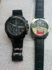 两块合售卡西欧海贼王手表
